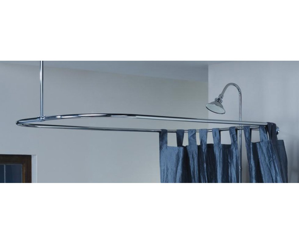Rectangular Shower Curtain Frame