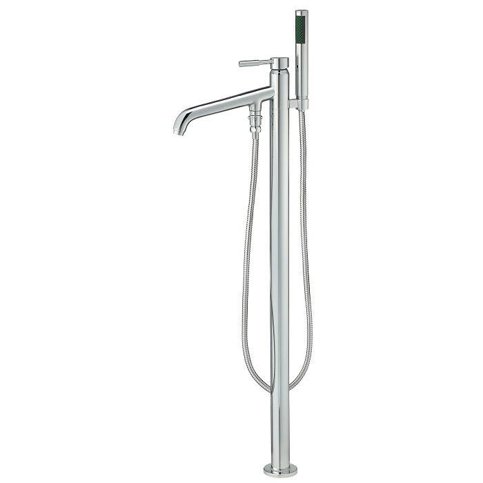Free Standing Tub Filler With Hand Shower