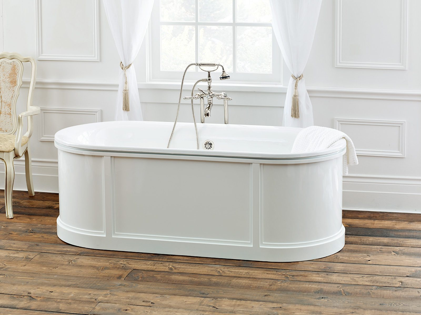 BUCKINGHAM Cast Iron Bathtub Back to products