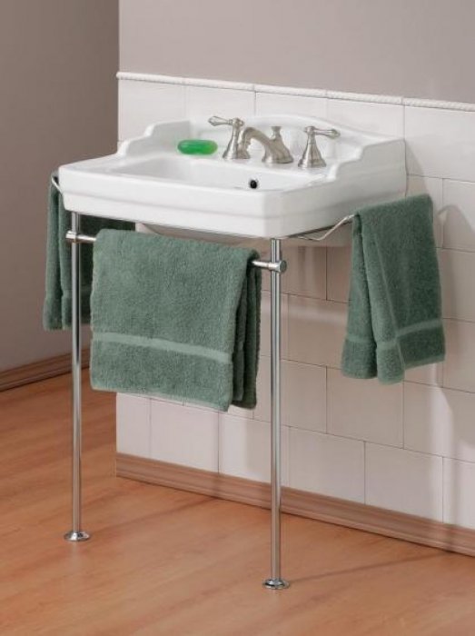 Bathroom Sinks Essex essex bathroom sink with metal console - cheviot products