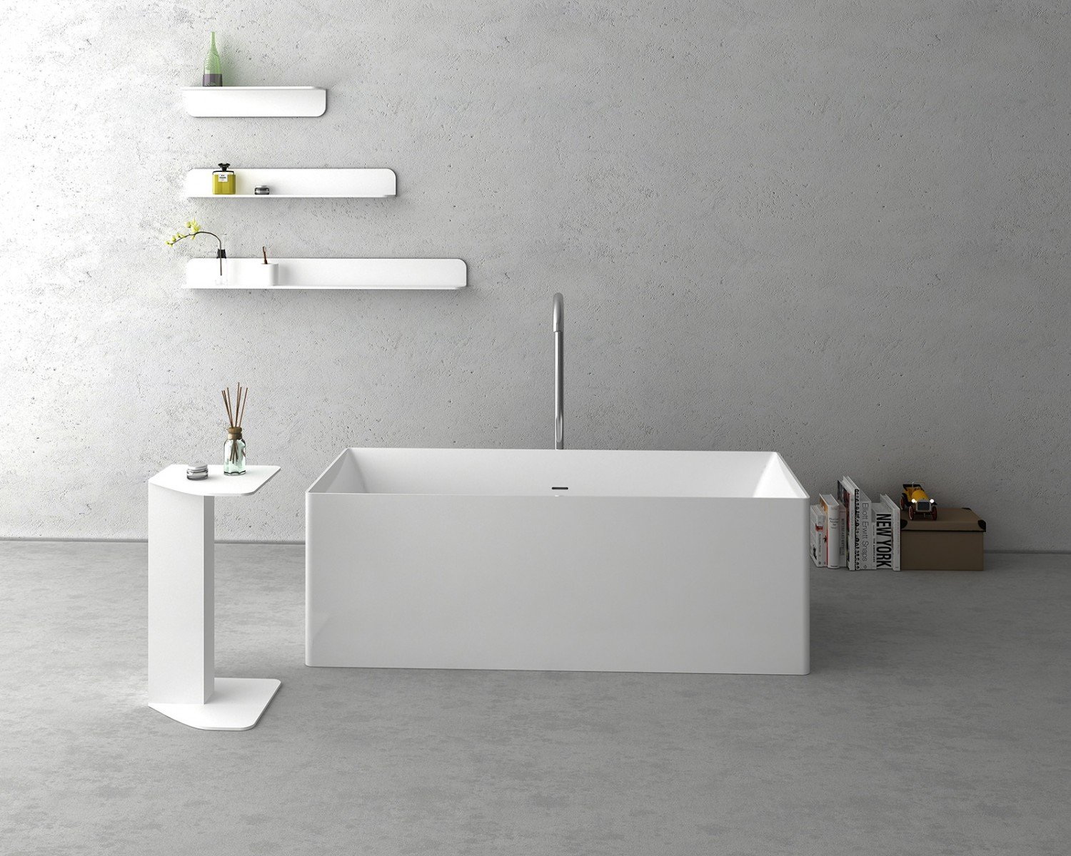 NAVONA Solid Surface Bathtub
