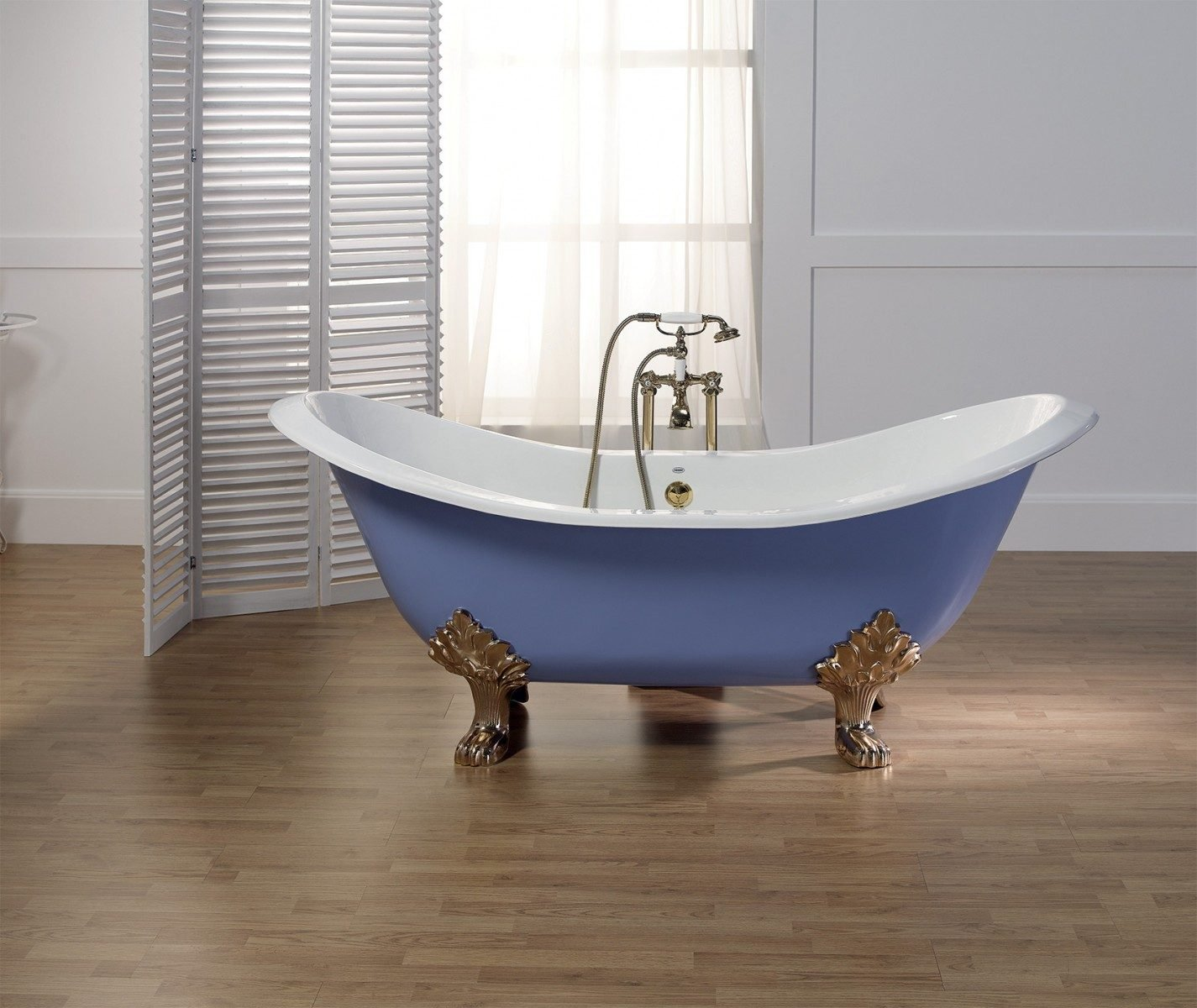 REGENCY Cast Iron Footed Bath - With Lion Feet - Cheviot Products