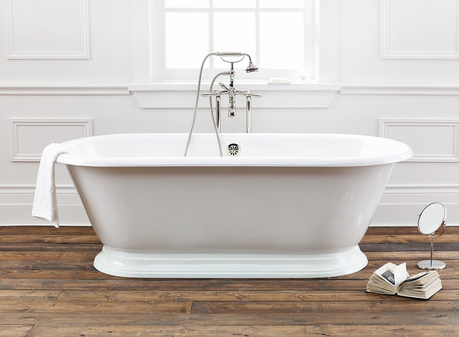 SANDRINGHAM Cast Iron Bathtub Back to products