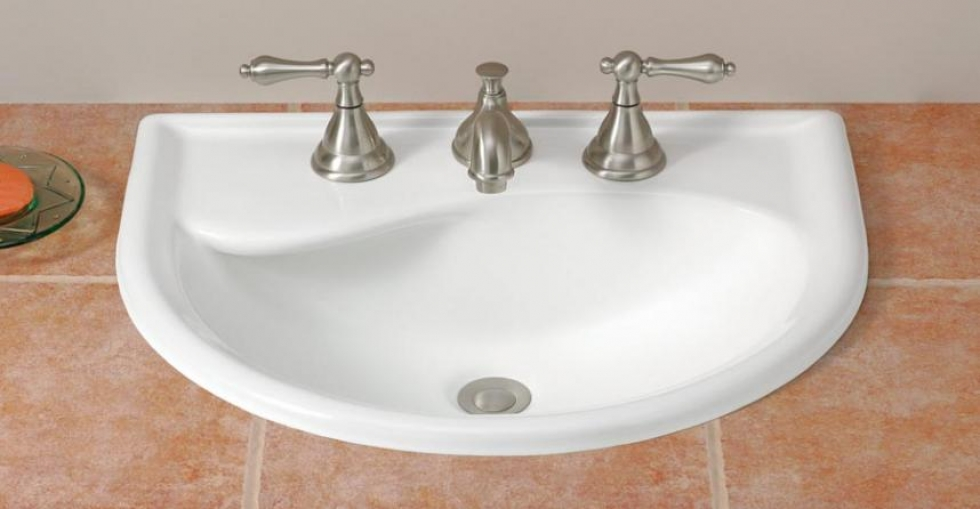 cheviot bathroom sinks calypso drop in sink cheviot products 12312