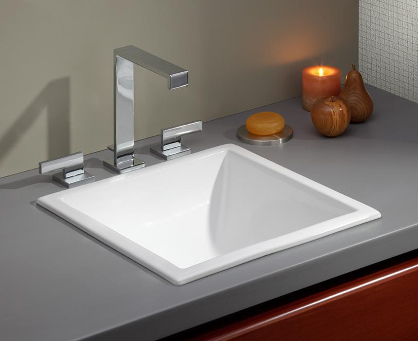 square drop in undermount sink cheviot products 12312
