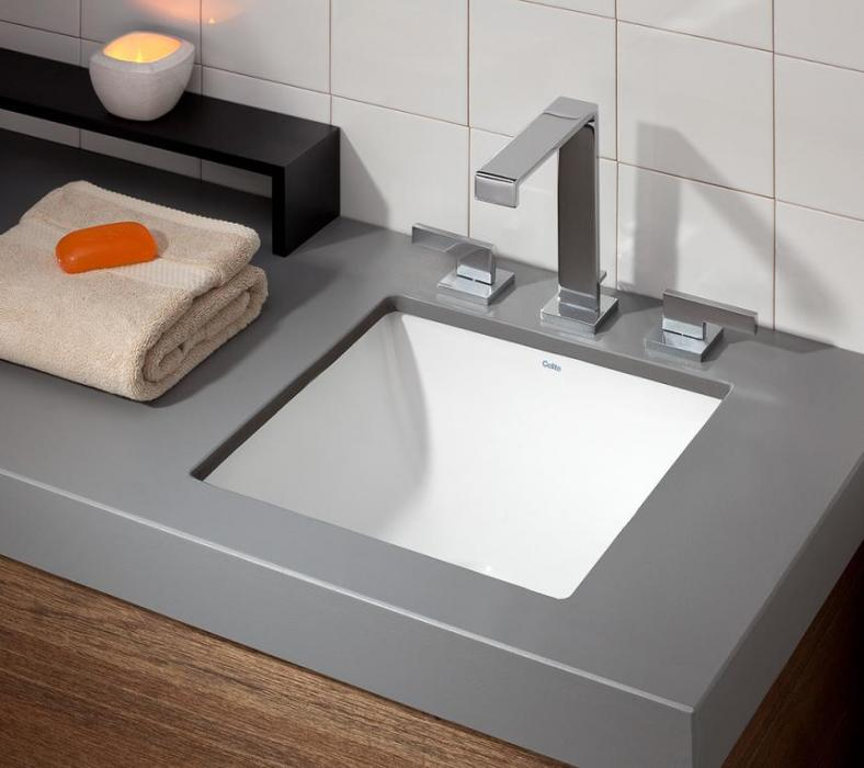 Square Drop In Undermount Sink Cheviot Products