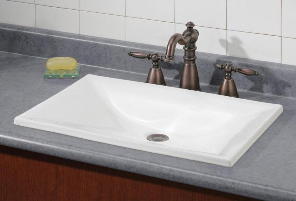 estoril drop in sink cheviot products 15183