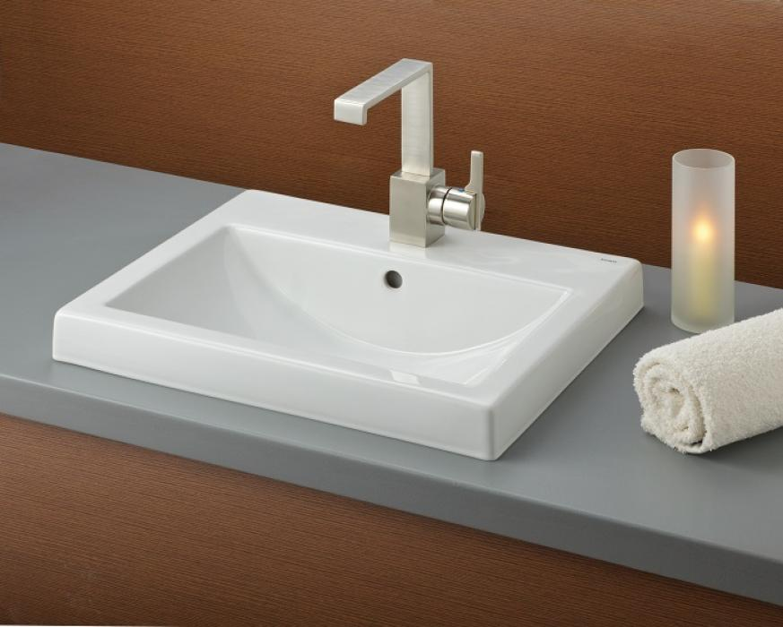 Camilla Semi Recessed Basin Category Bathroom Sinks
