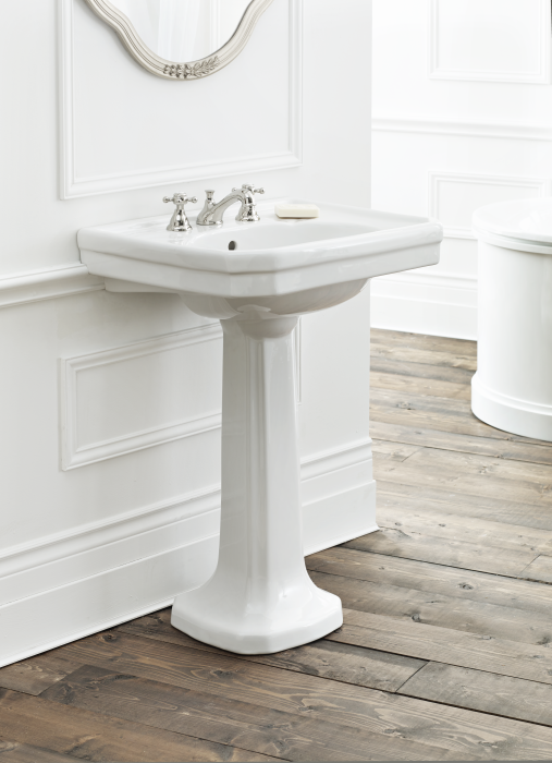 sink and pedestal for bathroom large mayfair pedestal sink cheviot products 24127