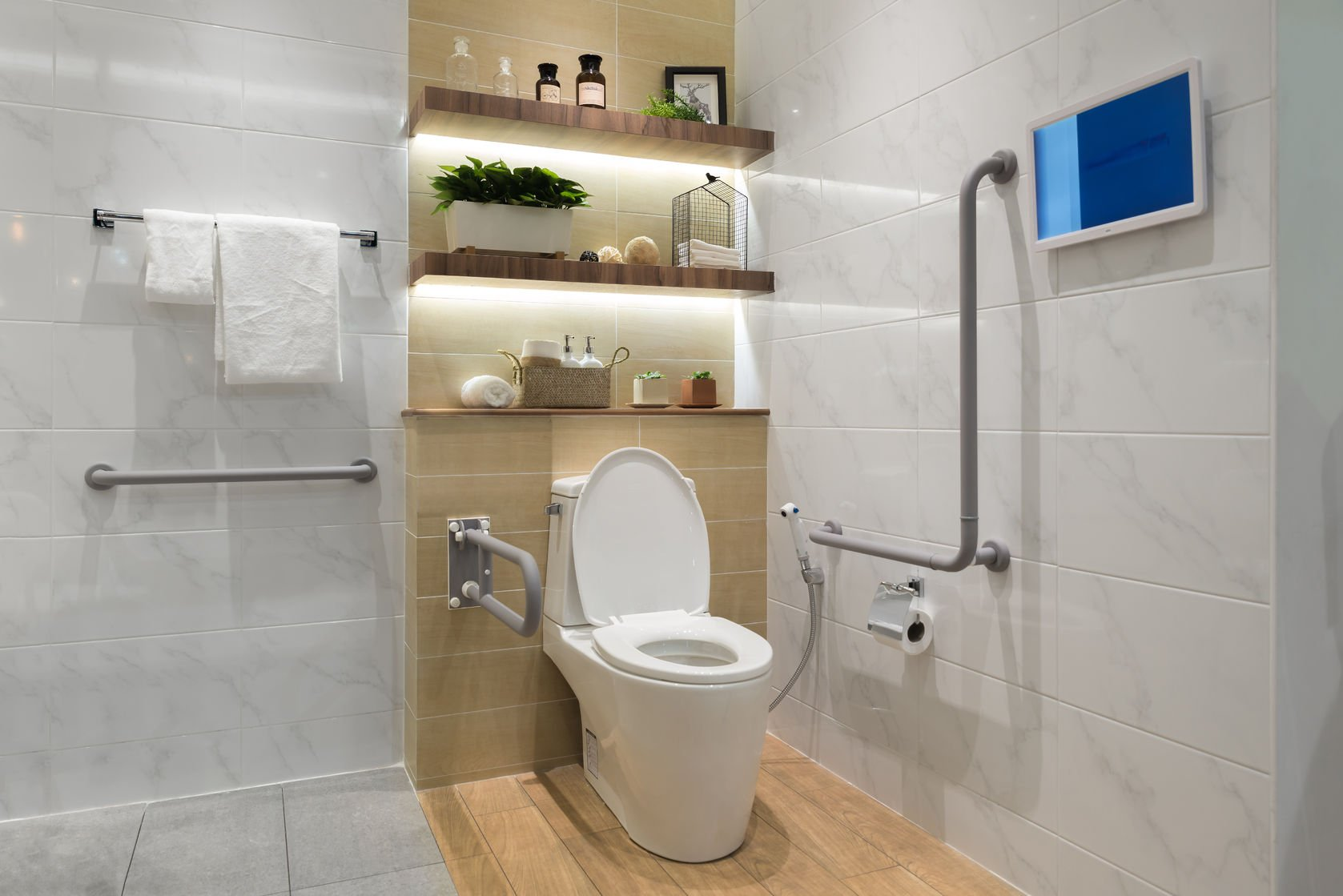 Accessibility: Creating Stylish Bathroom for People with Limited ...