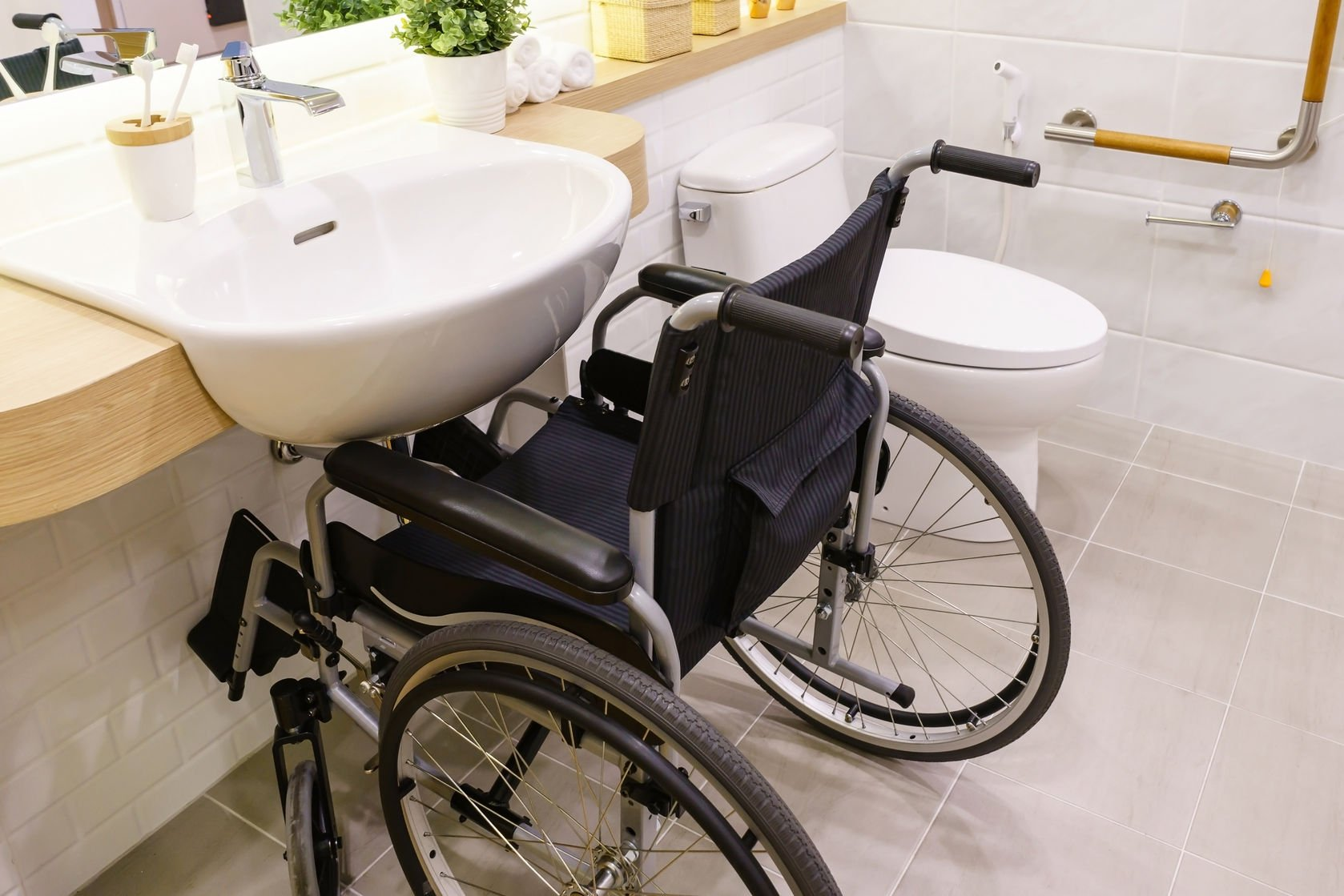 wheelchair accessible bathroom sinks accessibility creating stylish bathroom for with 21376