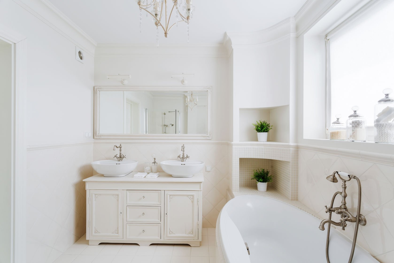 Create the Look: French Provincial Bathroom Style