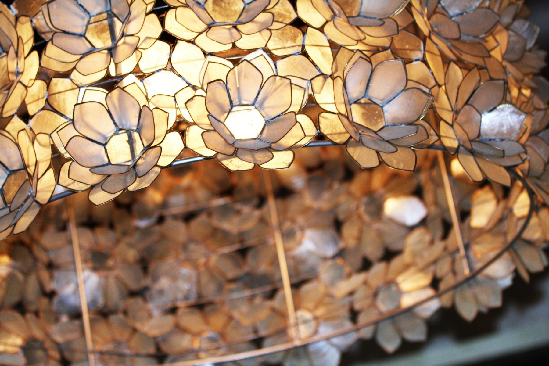 flower lights -- statement lighting