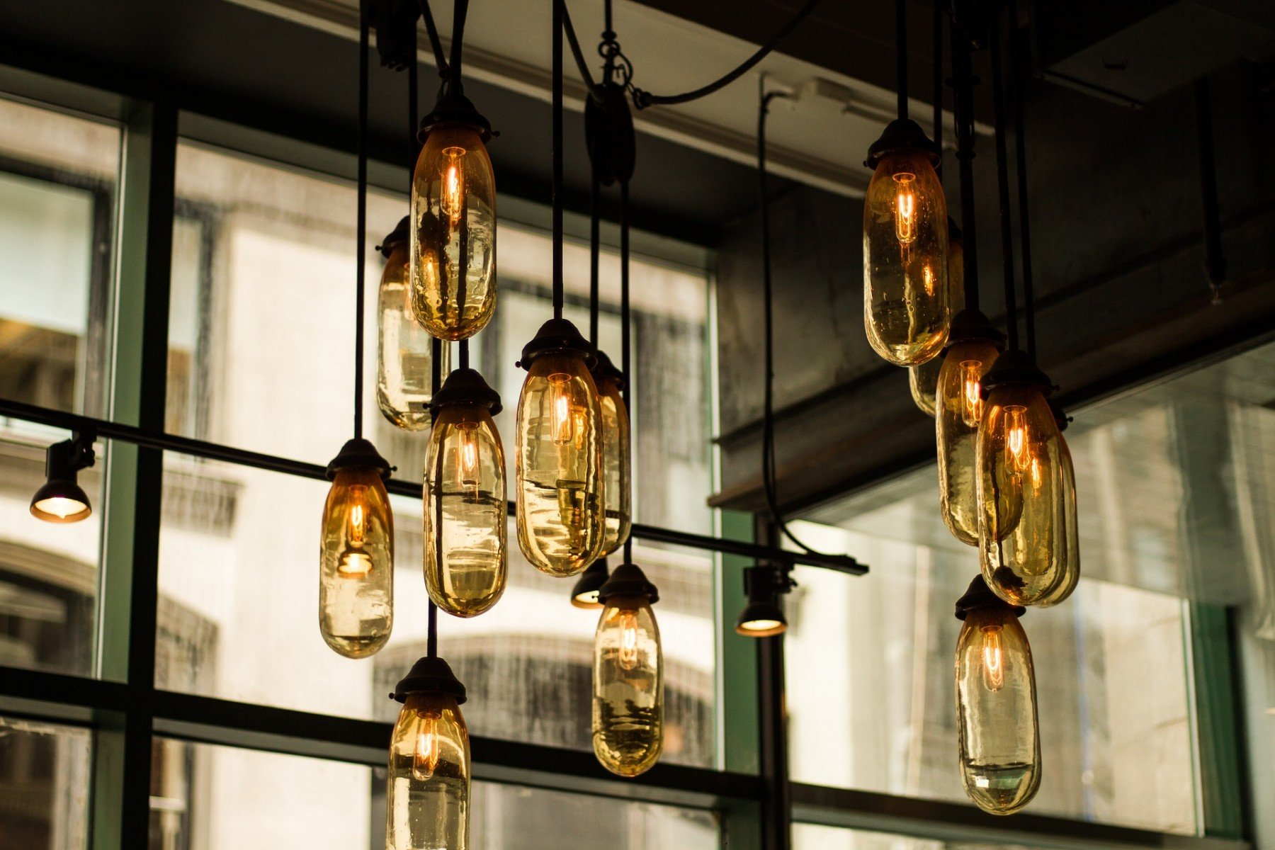 light bulbs -- statement lighting