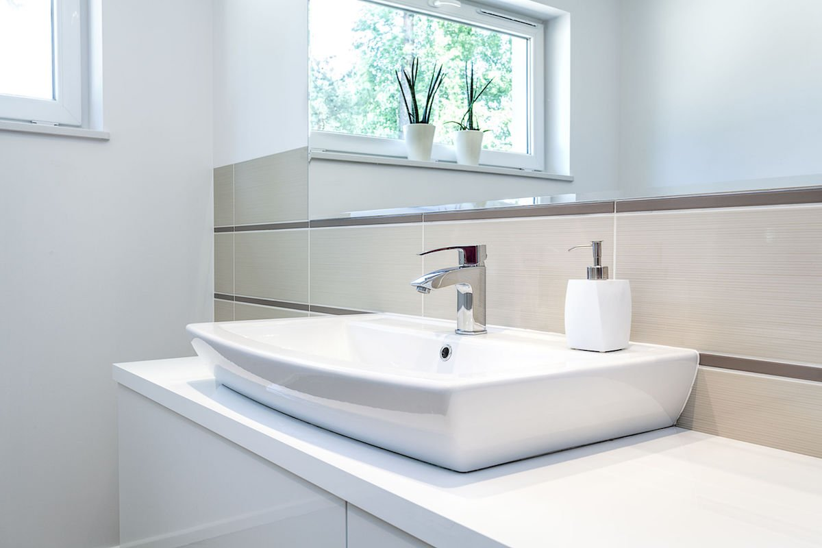 Bright space - tap - vessel sink maintenance