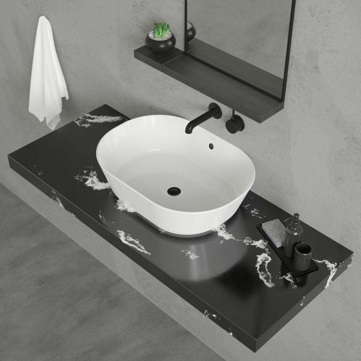 Geo 2 Vessel Sink Cheviot Products
