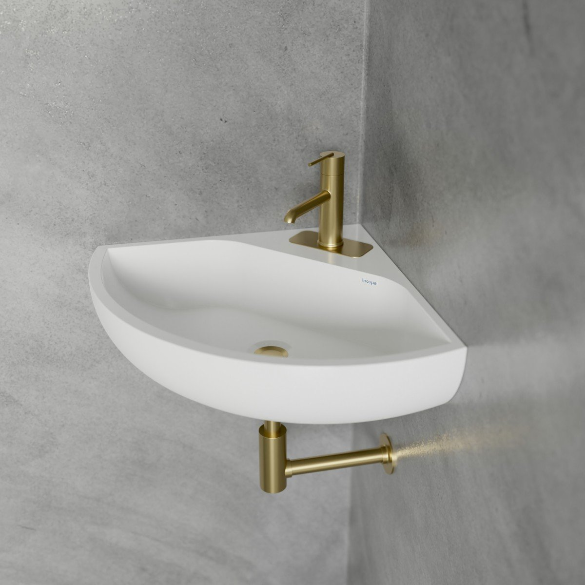 Angle Corner Wall Mount Sink Cheviot Products
